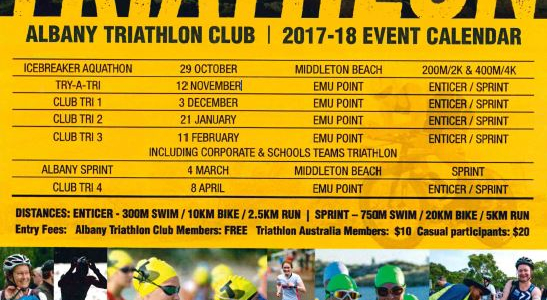 Albany Tri Club Events