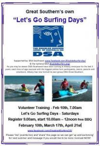 Flyer for DSA GS