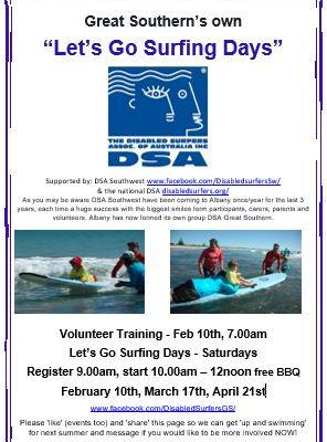 Flyer for DSA GS
