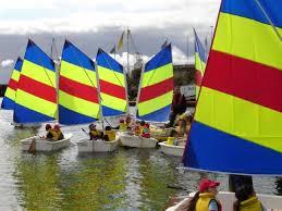 Kids sailing class