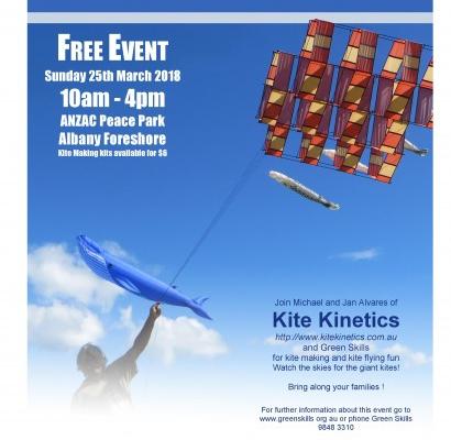 Flyer for Albany Kite Fiesta