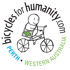 Logo for bicycles for humanity Perth
