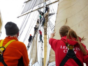 Sailing tall ships