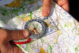 compass map orienteering